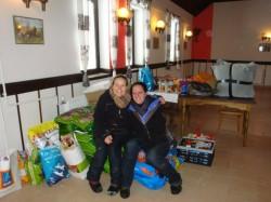 Spendenfahrt Ungarn - Hundefutter