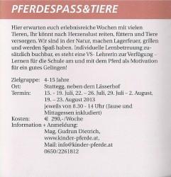 Pferdespass Gemeinde Stattegg